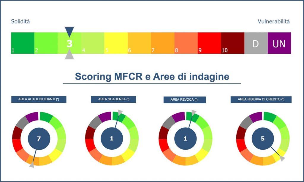 Scoring MFCR e Aree di indagine